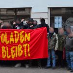 Infoladen bleibt: Pressemitteilung zur Kundgebung vor Stach - Immobilien