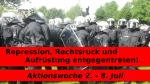 Repression, Rechtsruck und Aufrüstung entgegentreten!