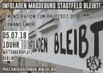 Gemeinsame Anreise zur Demonstration am 05.07.18 nach Berlin