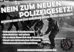 PAF: Nein zum neuen Polizeigesetz!