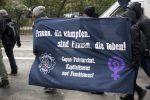 7.März 2020: Anti-Knast Demonstration zum Frauen*kampftag