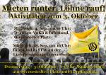 PAM: Aktivitäten zum 3. Oktober 2019
