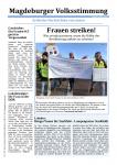 PAM: 2. Ausgabe der Magdeburger Volksstimmung erschienen